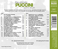 The Ultimate Puccini Opera Album - Produktdetailbild 1
