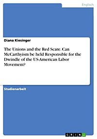 How to write an essay on mccarthyism