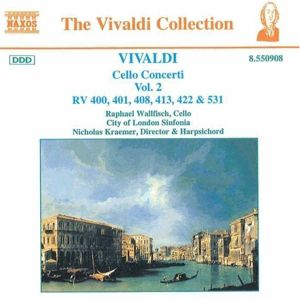 The Vivaldi Collection (Cello Concerti Vol. 2), Wallfisch, Kraemer, Cls
