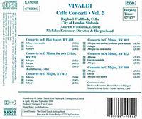 The Vivaldi Collection (Cello Concerti Vol. 2) - Produktdetailbild 1