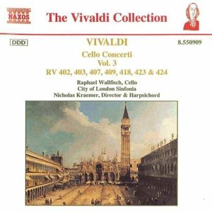 The Vivaldi Collection (Cello Concerti Vol. 3), Wallfisch, Kraemer, Cls