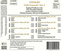 The Vivaldi Collection (Cello Concerti Vol. 3) - Produktdetailbild 1