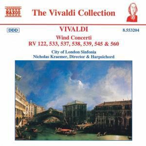 The Vivaldi Collection (Wind Concerti), Stirling, Caister