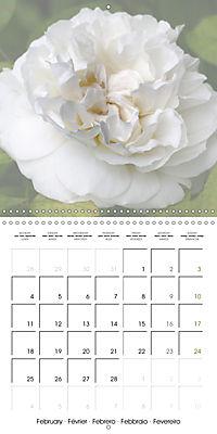 The White Garden (Wall Calendar 2019 300 × 300 mm Square) - Produktdetailbild 2