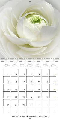 The White Garden (Wall Calendar 2019 300 × 300 mm Square) - Produktdetailbild 1