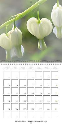 The White Garden (Wall Calendar 2019 300 × 300 mm Square) - Produktdetailbild 3
