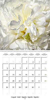 The White Garden (Wall Calendar 2019 300 × 300 mm Square) - Produktdetailbild 8