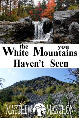 The White Mountains You Haven't Seen (SAMPLER), Matthew Marchon