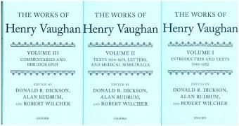 The Works of Henry Vaughan, Henry Vaughan
