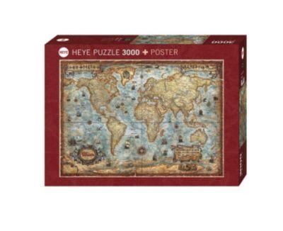 The World Puzzle, 3.000 Teile, Rajko Zigic