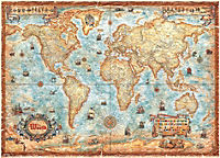 The World Puzzle, 3.000 Teile - Produktdetailbild 2