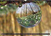 The world round as a ball (Wall Calendar 2019 DIN A3 Landscape) - Produktdetailbild 3