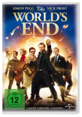 The World's End, Nick Frost,Paddy Considine Simon Pegg