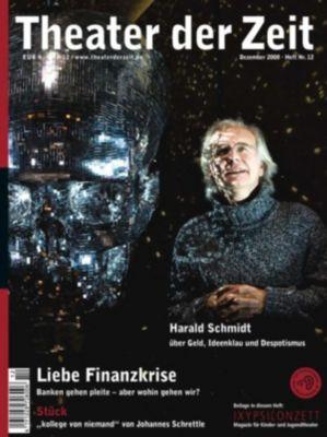 Theater der Zeit: Theater der Zeit - 01. Dezember 2008, Joachim Fiebach, Sebastian Kirsch, Fabian Lettow