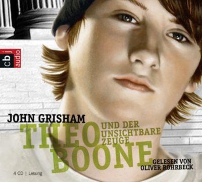 Theo Boone und der unsichtbare Zeuge, 4 Audio-CDs, John Grisham