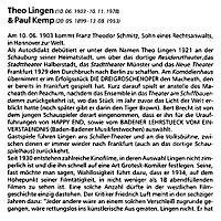 Theo Lingen: Der Theodor im Fußballtor, CD - Produktdetailbild 3