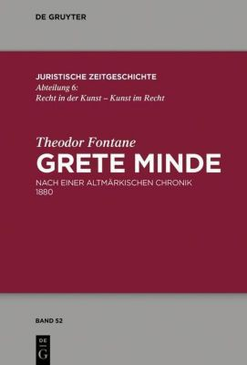Theodor Fontane, Grete Minde, Theodor Fontane, Anja Schiemann, Walter Zimorski