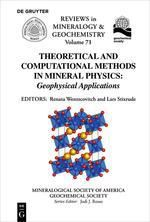 Theoretical and Computational Methods in Mineral Physics