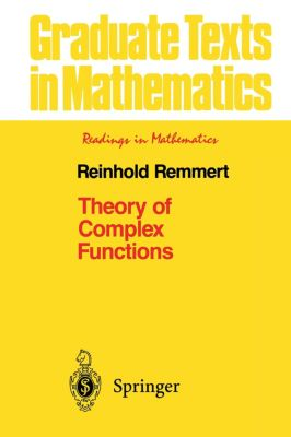 Theory of Complex Functions, Reinhold Remmert
