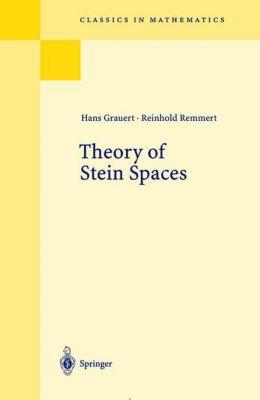 Theory of Stein Spaces, Hans Grauert, Reinhold Remmert