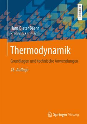 Thermodynamik, Hans Dieter Baehr, Stephan Kabelac