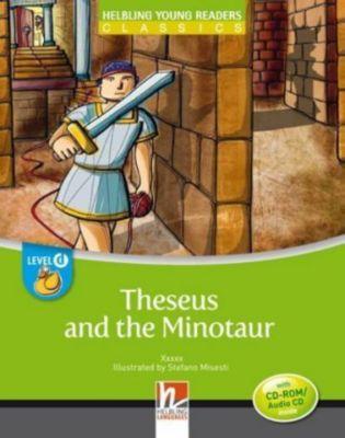 Theseus and the Minotaur, mit 1 CD-ROM/Audio-CD