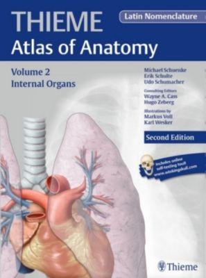 Thieme Atlas of Anatomy: Vol.2 Internal Organs, Latin nomenclature, Wayne Cass, Michael Schuenke, Erik Schulte, Udo Schumacher, Hugo Zeberg