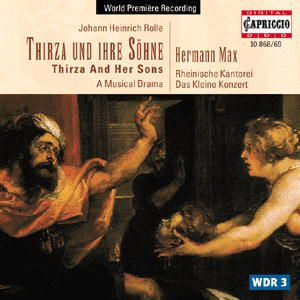 Thirza Und Ihre Söhne, Rheinische Kantorei, H. Max, Klk