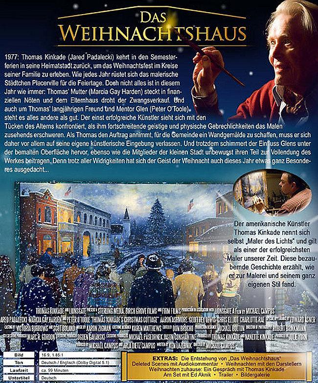 Entstehung Von Weihnachten.Thomas Kinkade Das Weihnachtshaus Dvd Bei Weltbild De Bestellen