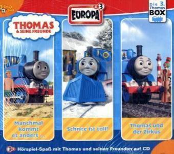 Thomas & seine Freunde, 3 Audio-CDs, Thomas & seine Freunde