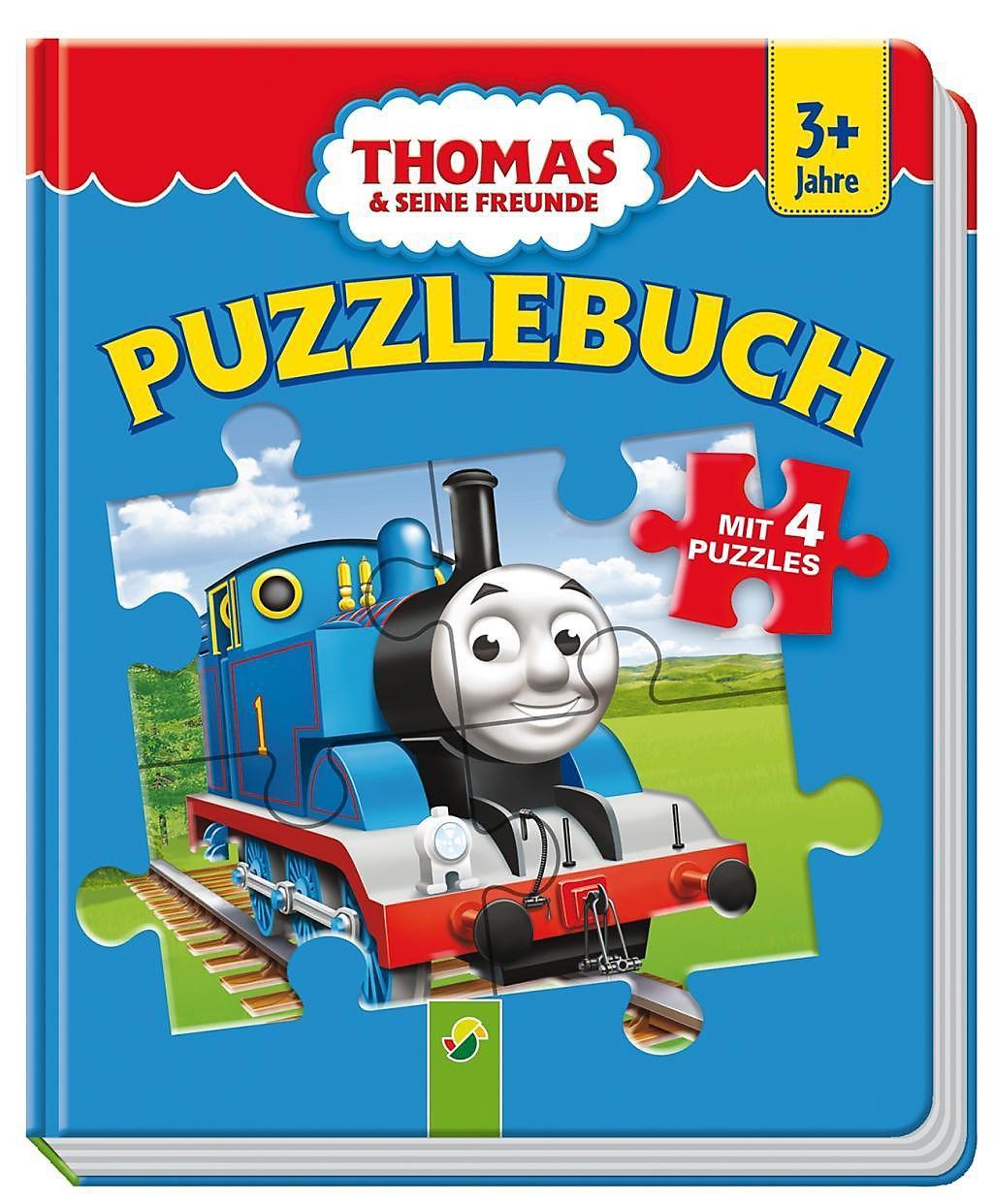thomas und seine freunde  puzzlebuch buch  weltbildde