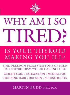 Thorsons: Why Am I So Tired?: Is your thyroid making you ill?, Martin Budd