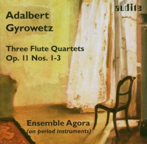 Three Flute Quartets Op.11 1-3, Ensemble Agora