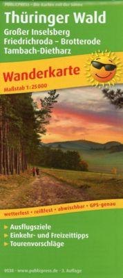Thüringer Wald, Großer Inselsberg - Friedrichroda - Brotterode - Tambach-Dietharz