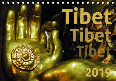 Tibet - Tibet - Tibet 2019 (Tischkalender 2019 DIN A5 quer), Manfred Bergermann