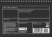 Tibet - Tibet - Tibet 2019 (Tischkalender 2019 DIN A5 quer) - Produktdetailbild 13