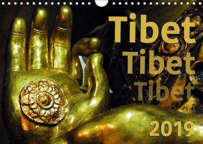 Tibet - Tibet - Tibet 2019 (Wandkalender 2019 DIN A4 quer), Manfred Bergermann