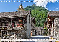 Ticino romanticoCH-Version (Tischkalender 2019 DIN A5 quer) - Produktdetailbild 1