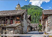 Ticino romanticoCH-Version (Wandkalender 2019 DIN A2 quer) - Produktdetailbild 1