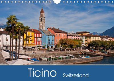 Ticino - Switzerland (Wall Calendar 2019 DIN A4 Landscape), Joana Kruse