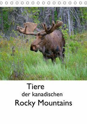 Tiere der kanadischen Rocky Mountains (Tischkalender 2019 DIN A5 hoch), Dieter-M. Wilczek