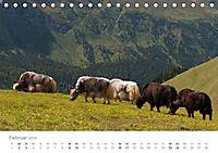 Tiere in Freiheit - Nutztiere auf der Alm (Tischkalender 2019 DIN A5 quer) - Produktdetailbild 2