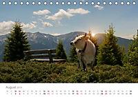 Tiere in Freiheit - Nutztiere auf der Alm (Tischkalender 2019 DIN A5 quer) - Produktdetailbild 8