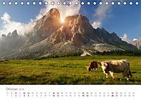 Tiere in Freiheit - Nutztiere auf der Alm (Tischkalender 2019 DIN A5 quer) - Produktdetailbild 10