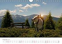 Tiere in Freiheit - Nutztiere auf der Alm (Wandkalender 2019 DIN A4 quer) - Produktdetailbild 8