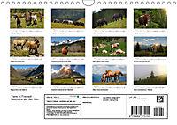 Tiere in Freiheit - Nutztiere auf der Alm (Wandkalender 2019 DIN A4 quer) - Produktdetailbild 13