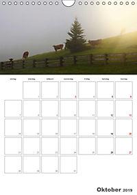 Tiere in Freiheit - Nutztiere auf der Alm (Wandkalender 2019 DIN A4 hoch) - Produktdetailbild 10