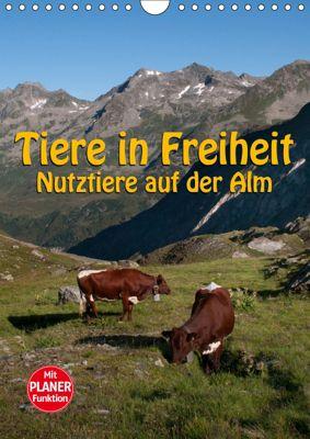 Tiere in Freiheit - Nutztiere auf der Alm (Wandkalender 2019 DIN A4 hoch), Georg Niederkofler
