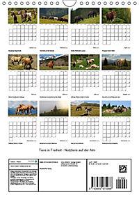 Tiere in Freiheit - Nutztiere auf der Alm (Wandkalender 2019 DIN A4 hoch) - Produktdetailbild 13