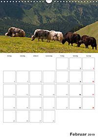 Tiere in Freiheit - Nutztiere auf der Alm (Wandkalender 2019 DIN A3 hoch) - Produktdetailbild 2